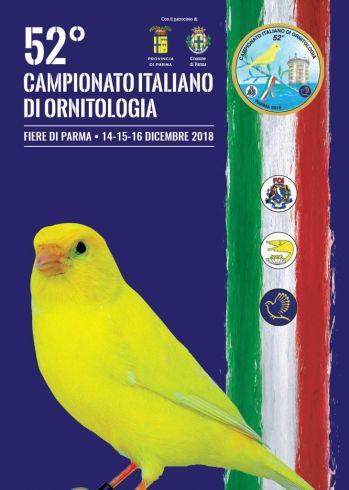 Calendario Fiere Ornitologiche 2020.25 10 2018 52 Campionato Italiano Di Ornitologia Parma